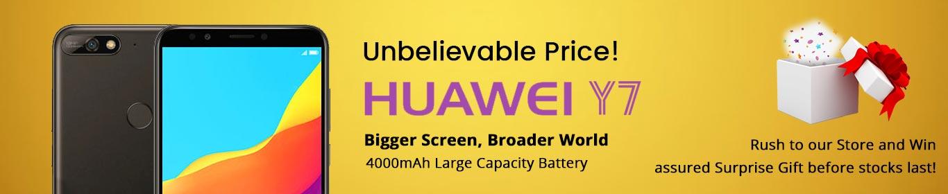 Huawei Y7 Web