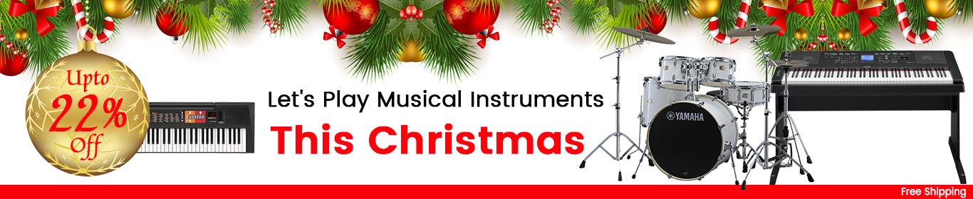 Music Instruments- Christmas Web