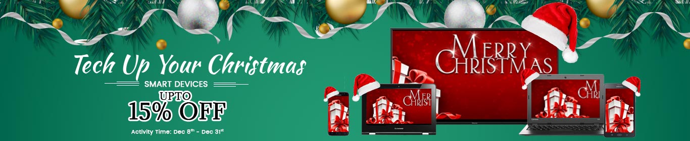 Tech Christmas -Web Slider