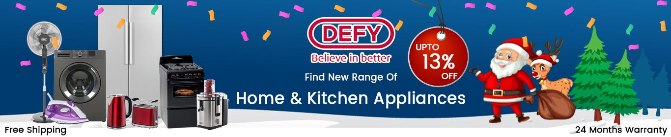 Defy Home Appliances Web