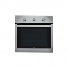 WHIRLPOOL 60cm Single Multi-function oven AKP 738 IX