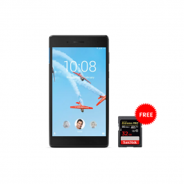 Lenovo Tab 4, 7-inch 3G TABLET with Voice Calling 16GB MEMORY + FREE 32GB SD CARD