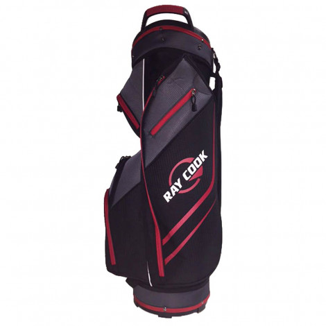 Ray Cook 14 Way Black/Red Cart Bag
