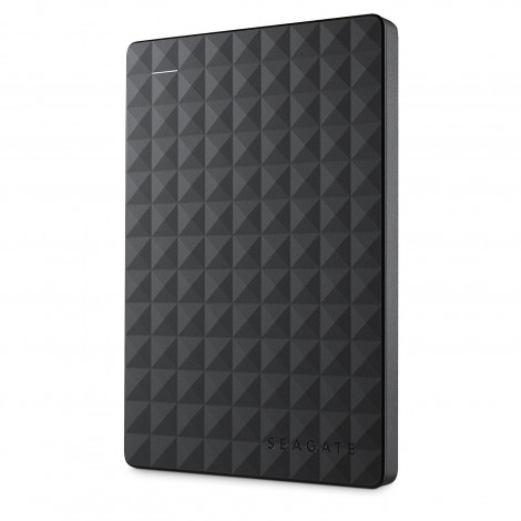 Seagate 2TB Expansion Portable Hard Drive (Black)