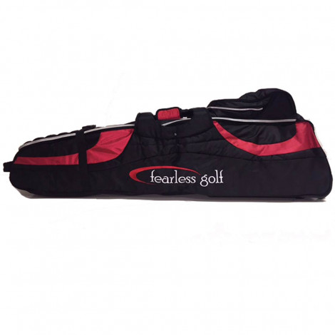 Fearless Deluxe Travel Cover (Black/Red)