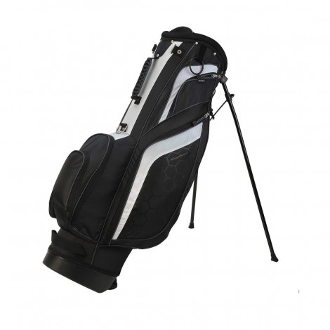 Tommy Armour Torch Stand Bag (Black/White)