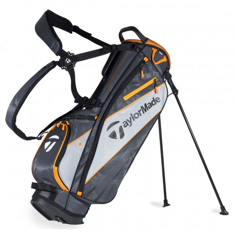 TaylorMade 1.0 Stand Bag (Grey/Orange)