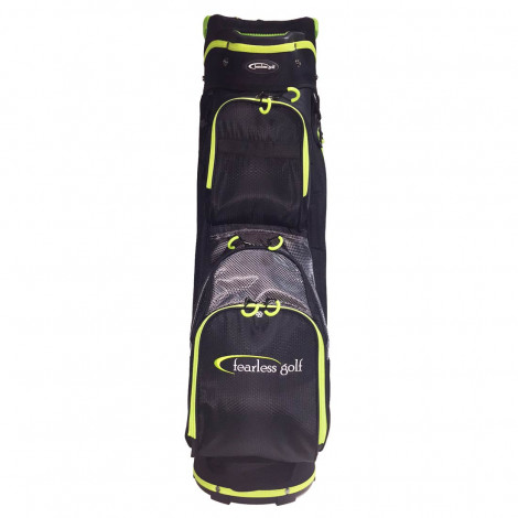 Fearless Golf Tour 14 Way Cart Bag (Black/Lime)