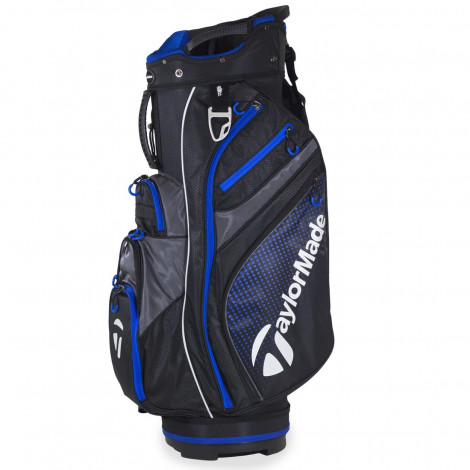 TaylorMade AG Cart Bag (Black / Blue)