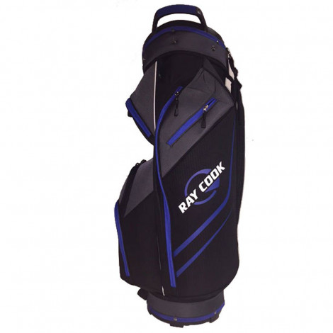 Ray Cook 14 Way Black/Blue Cart Bag