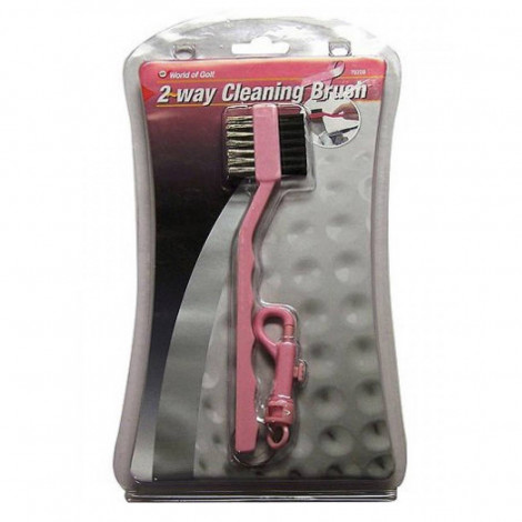 World Of Golf 2 Way Cleaning Brush (792DB)