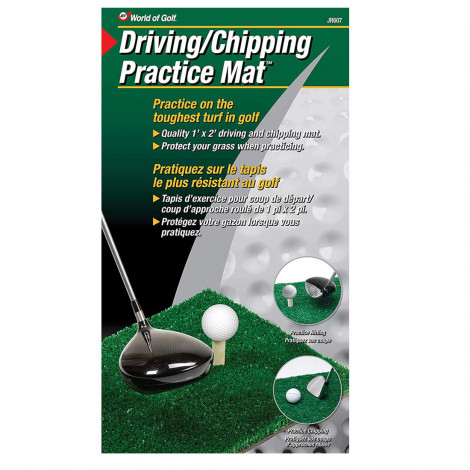 World of Golf Driving & Chipping Mat (JR607)