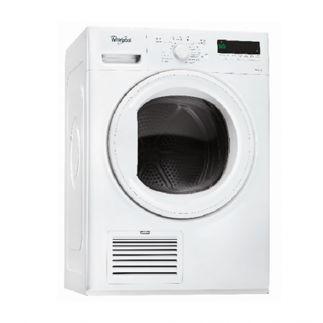Whirlpool 7 kg Front Loading Condensation Dryer DDLX70113 – White