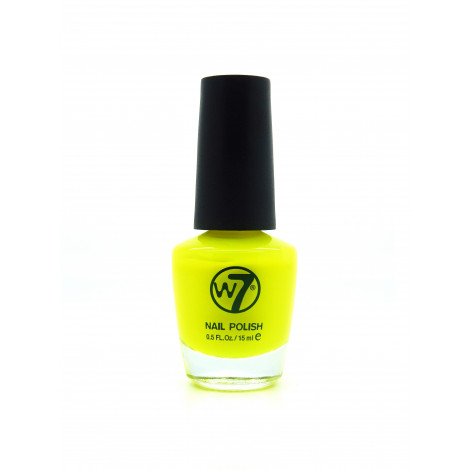 W7 Nail Polish (Flourescent Yellow)