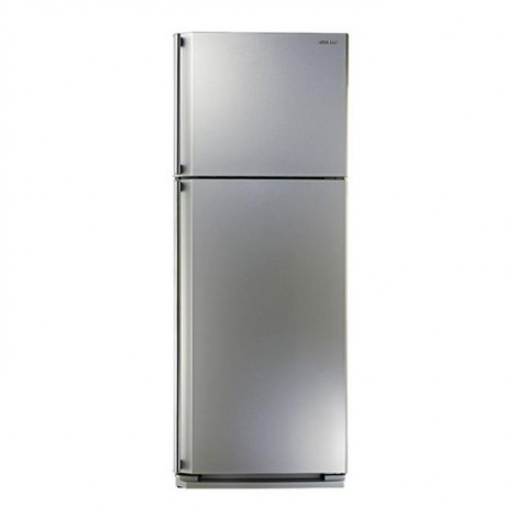 Sharp Refrigerator with Ag+ Nano Deodorizer Filter No frost SILVER color SJ-48C(SL)