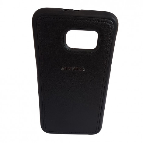 Samsung S6 edge back case without stand (Black)
