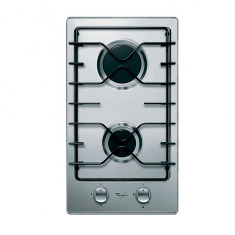 30CM 2Plate Gas on stainless steel hob AKT 301 IX