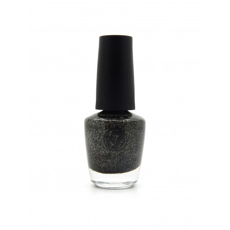 W7 Nail Polish (Cosmic Black)