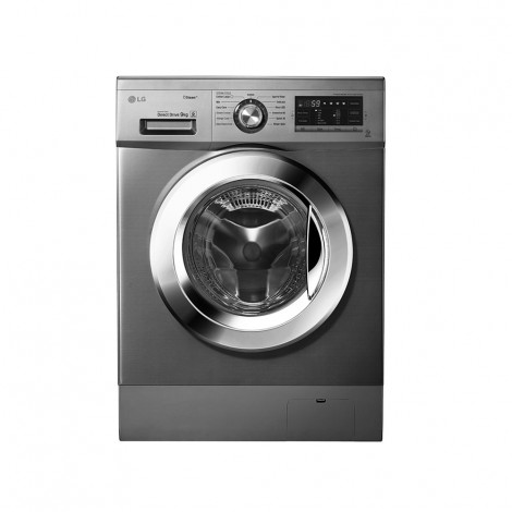 LG 9 KG Front Loader Steam Washing Machine FH4G6VDYG6 with 5kg Dryer