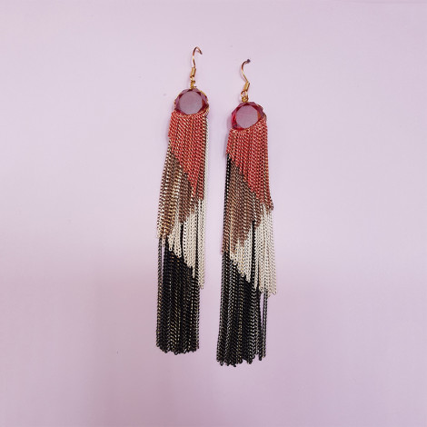 Ear Ring AEY 400 (Red)