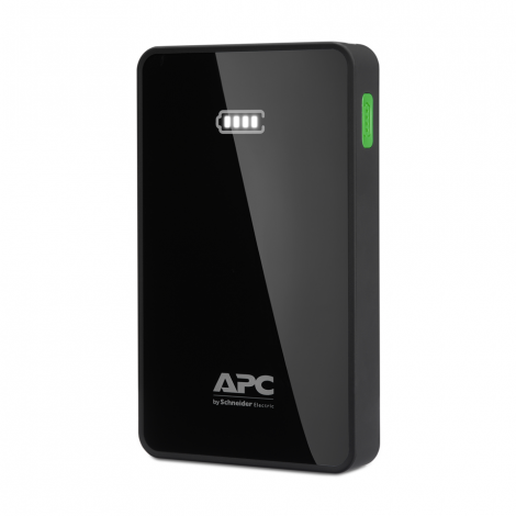 APC Mobile Power Pack, 5000mAh Li-polymer, Black ( EMEA/CIS/MEA)
