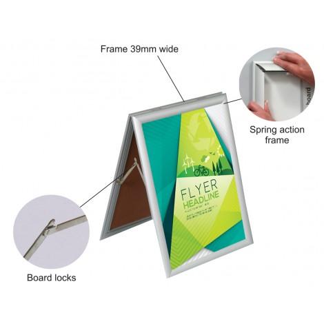 Parrot Poster Frames A-Frame (Sandwich A2 655*480)