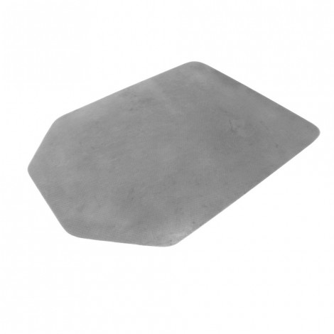CARPET PROTECTOR NON SLIP SILVER TAPERED RECTANGLE 1200 X 900 X 2.75MM