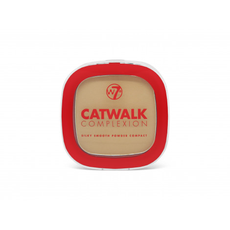 W7 Catwalk Complextion Compact Powder (BEIGE)