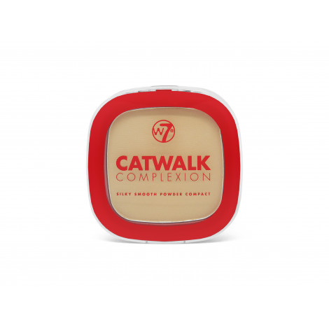 W7 Catwalk Complextion Compact Powder (Translucent)