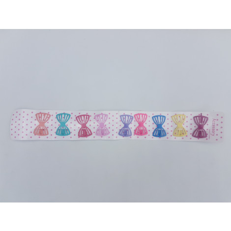 Set of Multi Color Butterfly Hair Pins