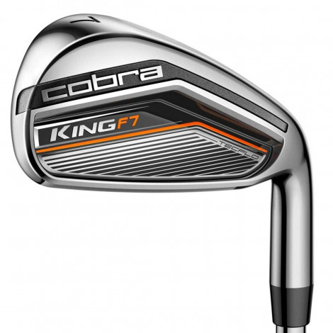 Cobra King F7 One Length Iron Steel (4-SW)