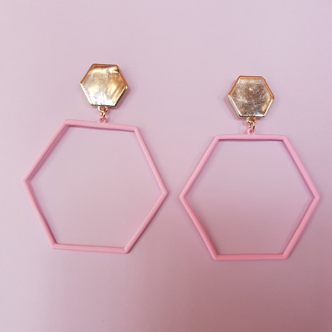 Ear Ring CUY 280 (Light Pink)