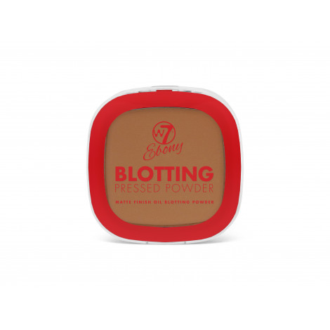 W7 Ebony Blotting Pressed Powder (Deep)