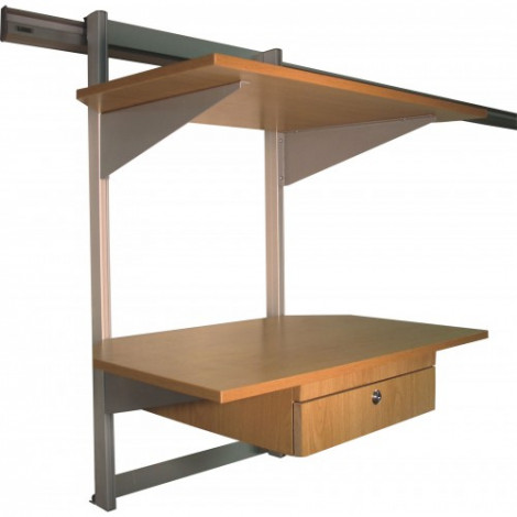 Parrot Easy Rail Two Shelf Unit 750*500mm