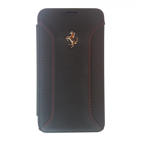 Ferrari real leather booktype case for samsung S5