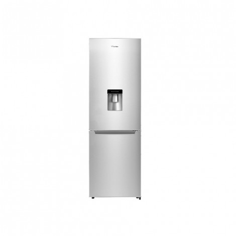 Hisense Inox 228 L Bottom Fridge with Water Dispenser