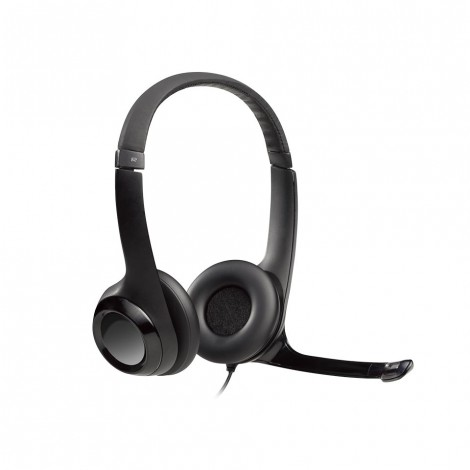Logitech H390 USB COMPUTER HEADSET With NOISE CANCELING MIC,Enhanced digital audio and in-line controls
