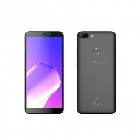 Infinix Hot 6 Pro (X608) 6-Inch HD (2GB RAM, 16GB ROM) Android 8.0 Oreo, (13MP + 2MP) + 5MP Dual Sim 4G BLACK