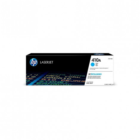 HP 410A (CF411A) Toner Cartridge, Cyan for HP Color Laserjet Pro