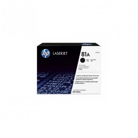 HP 81A LASERJET M630/604/605 BLACK PRINT CARTRIDGE CF281A