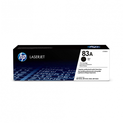 HP 83A (CF283A) Black Toner Cartridge for HP LaserJet Pro M201 M201dw M125 M127 M225dn M225dw