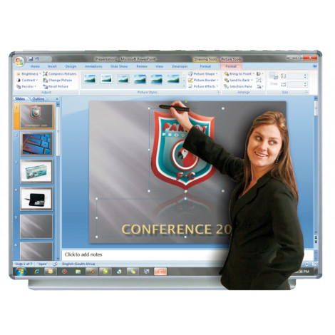 Parrot Non-Reflective Board For Interactive System (1620*1220mm)