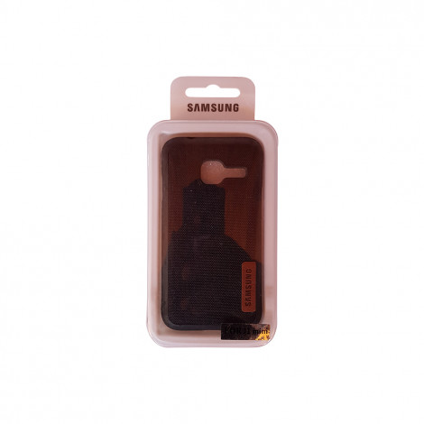 Samsung J1 Mini Jeans Back Case (Black)
