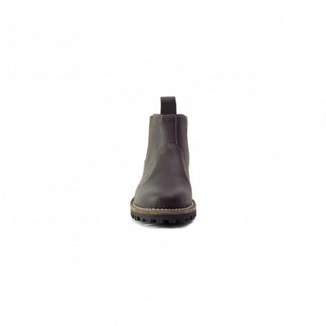 John Buck Men's Slip on Boots Brown