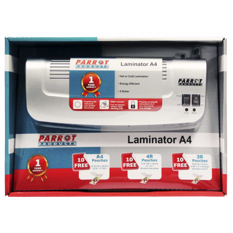 Laminating Machine (A4 2 Roller Retail Pack 250mm/min)