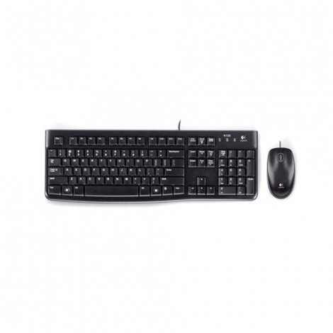LOGITECH Wired Keyboard & Mouse Combo MK120, INTL 920-002562