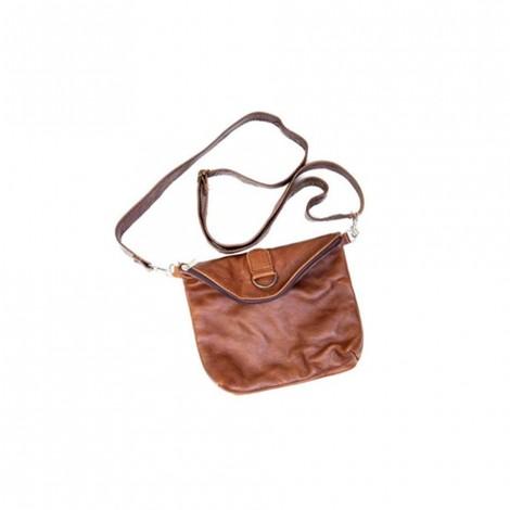 Mirelle Genuine Leather Convertible Crossbody Handbag