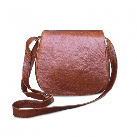 Mirelle Genuine Leather Crossbody Messenger Handbag