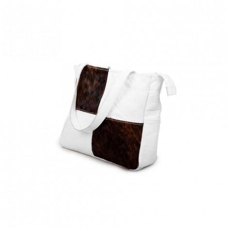 Mirelle Genuine Leather Nguni Classic Shopper