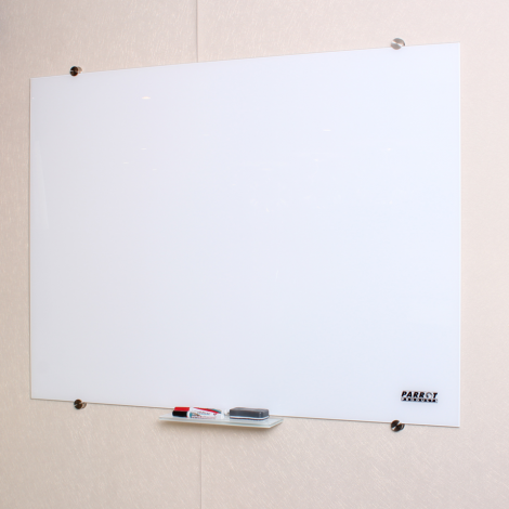 Parrot Glass WhiteBoard Magnetic Printed 1800*1200MM